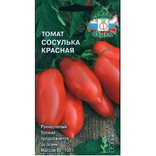 Томат Сосулька красная